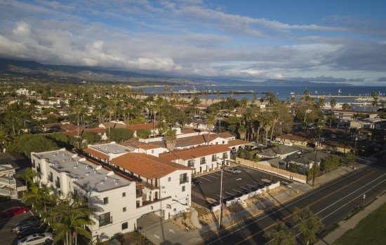 La Playa Inn - Aerial View